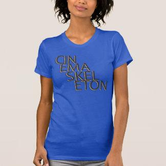 T-shirt Pièce en t squelettique d'Oreo de cinéma - la