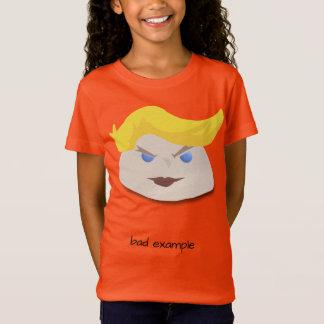 """T-Shirt Pièce en t superbe de """"mauvais exemple"""" de carotte"""
