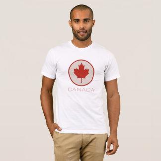 T-shirt Pièce en t texturisée de feuille d'érable