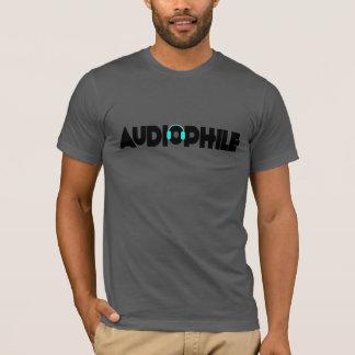T-shirt Pièce en t unisexe Audiophile d'ajustement