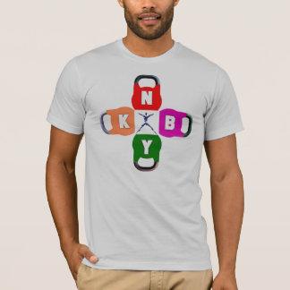 T-shirt Pièce en t unisexe de KBNY Kettlebell