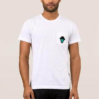 T-shirt Pièce en t verte de lanterne