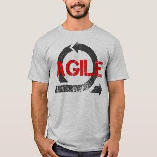 T-shirt Pièce en t vintage agile