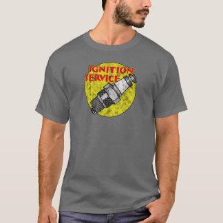 T-shirt Pièce en t vintage originale de bougie d'allumage