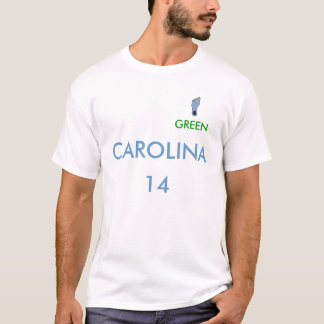T-shirt pied, VERT, CAROLINE, 14