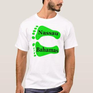 T-shirt Pieds nus de Nassau Bahamas