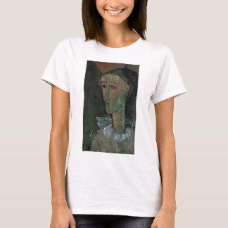 T-shirt Pierrot (autoportrait comme Pierrot) par Amedeo
