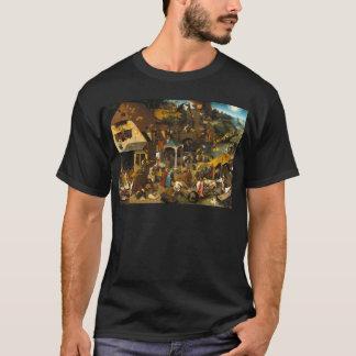 T-shirt Pieter Bruegel l'aîné - proverbes de Netherlandish