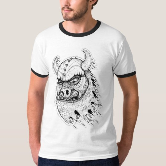 T-shirt Pig Invader Attack