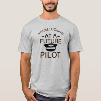 T-shirt pilote de cadet