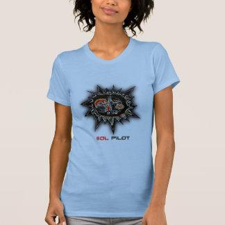 T-shirt pilote de rayon de soleil de solénoïde
