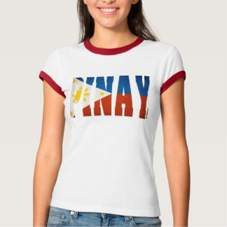 T-shirt Pinay drapeau