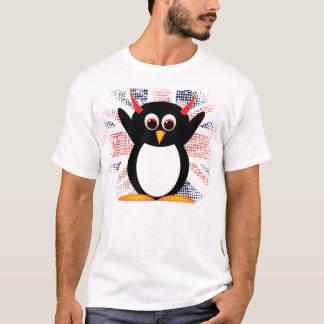 T-shirt Pingouin de mal d'Union Jack