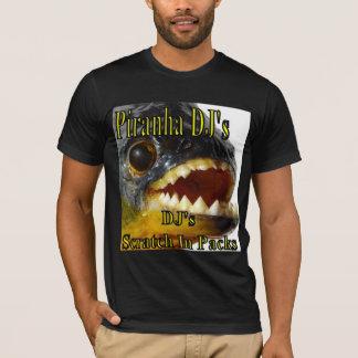 T-shirt Piranha DJ (cuisinier du DJ)