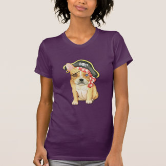 T-shirt Pirate de bouledogue français