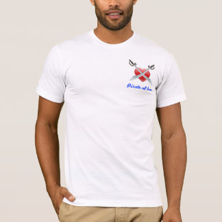 T-shirt Pirate de chemise d'amour