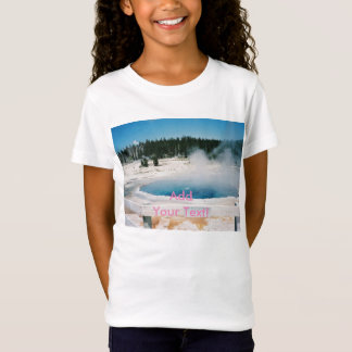 T-Shirt Piscine crêtée Yellowstone de bassin supérieur de