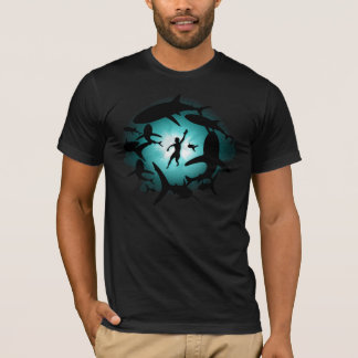T-shirt Piscine de requin