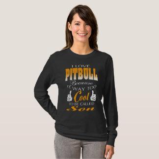 T-shirt pitbull d'amour