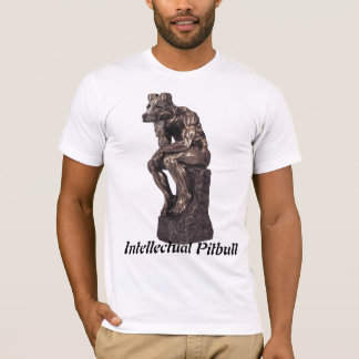 T-shirt Pitbull intellectuel