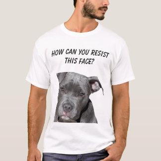 T-shirt Pitbull noir Editable