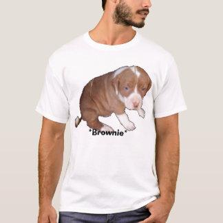 T-shirt pitbullpuppy, *Brownie*