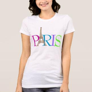 T-shirt PixDezines Paris, Tour Eiffel