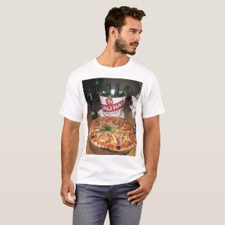 T-shirt Pizza et bière dans Bali