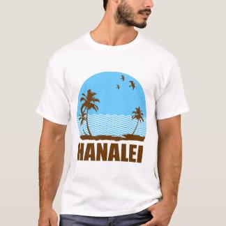 T-shirt plage de hanalei