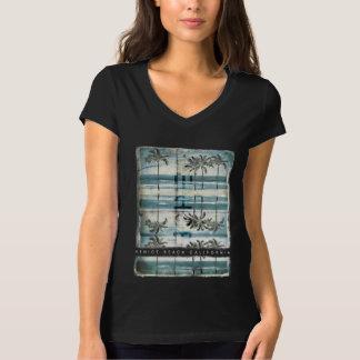 T-shirt Plage vintage d'été de Venise de palmier