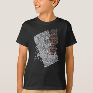 T-shirt Plaid de punk de PEBBLES™