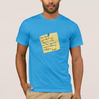 T-shirt Plaisanterie d'Athiest Joseph et de Mary