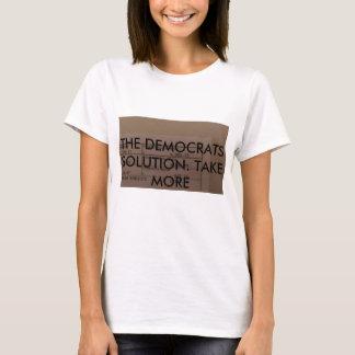 T-shirt plaisanterie de démocrate