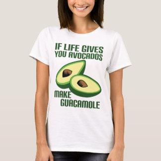T-shirt Plaisanterie drôle d'avocat de guacamole