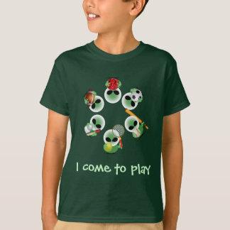 T-shirt Plaisanteries de Roswell