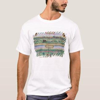 T-shirt Plan de ville de Vienne et de Buda, de 'Civitates