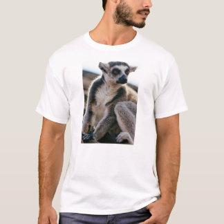 T-shirt Plan rapproché de portrait de lémur