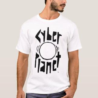 T-shirt PLANÈTE de CYBER NOTRE MONDE par des TERRIERS