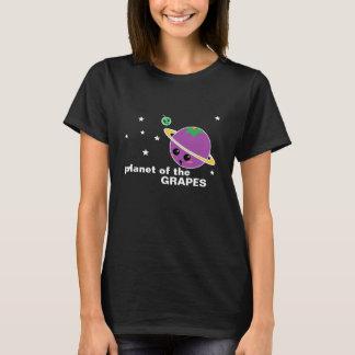 T-shirt Planète de la pièce en t de raisins