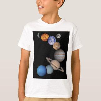 T-shirt Planètes du système solaire