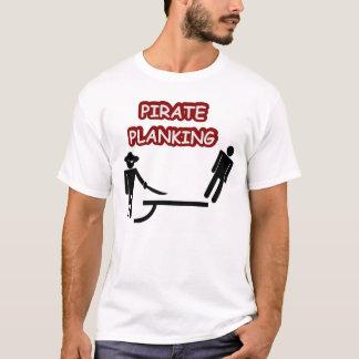 T-shirt Planking de pirate