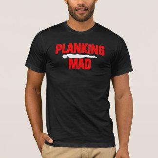 T-shirt Planking fou