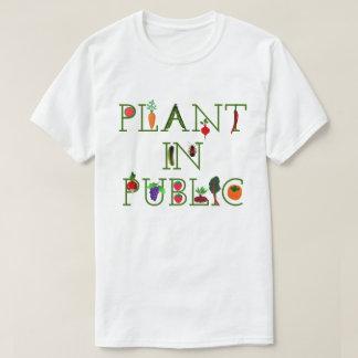 T-shirt Plante l'en public