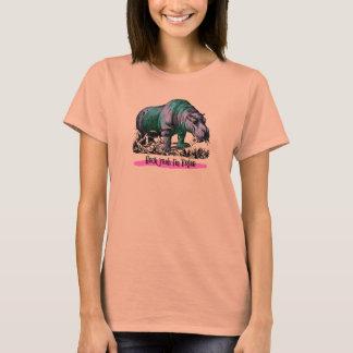 T-shirt Plante mangeant le dessus herbivore végétalien