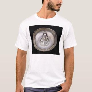 T-shirt Plat avec le buste d'un homme à l'intérieur