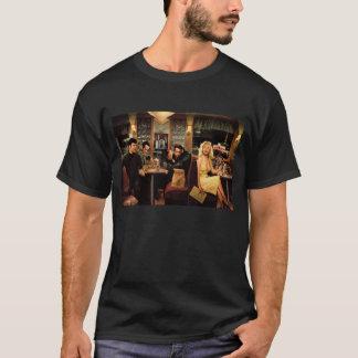 T-shirt Plat bleu