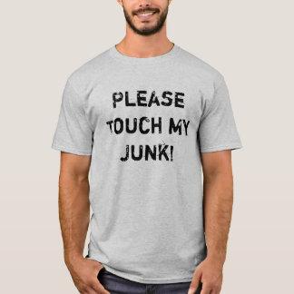 T-shirt PleaseTouch mon ordure !