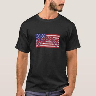 T-shirt Plouc et drapeau