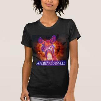 T-shirt Plowmule atomique T noir