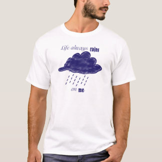 T-shirt Pluies sur moi [Emo]